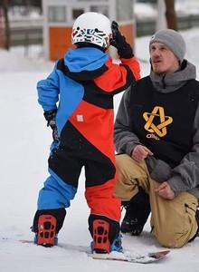 инструктор по горным лыжам сноуборду Дмитрий Маслов