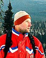 инструктор по горным лыжам сноуборду Алексей Самсонов